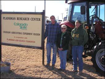 Plains Research Center staff