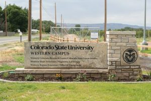 Colorado State University Western Campus entry photo